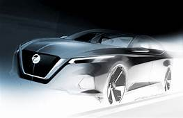 Official Design Sketch Of The All New Nissan Altima