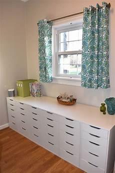 ikea drawers scrapbook com sewing room storage ikea