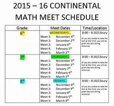 academic opportunities continental math league