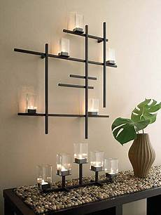 modern grid candle sconce modern apartment decor decor metal wall decor