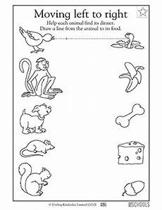 animals phonics worksheets for kindergarten 14220 kindergarten preschool reading writing worksheets connect the animal to its food pet store