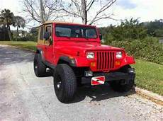car maintenance manuals 1994 jeep wrangler interior lighting sell used 1994 jeep wrangler yj lifted 33s red tan softtop offroad lights antenna 4x4 in saint