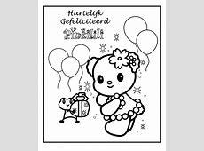 Speciale Dagen Verjaardag Kleurplaat » Animaatjes.nl