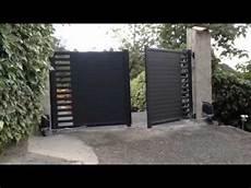 Portail Aluminium Battant Pos 233 Par Apg Acc 232 S Portes De