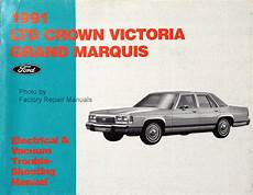 best car repair manuals 1997 ford crown victoria spare parts catalogs 1991 ford crown victoria mercury grand marquis electrical vacuum and troubleshooting manual