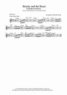download beauty and the beast violin and piano 2017 fantastic version sheet music by alan