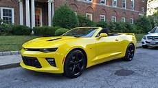 2017 Chevrolet Camaro Ss Convertible Review The Drive