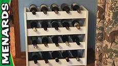 weinregal selber bauen wine rack how to build menards