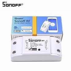 aliexpress com buy itead sonoff rf 433mhz wifi wireless