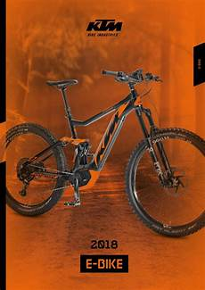 e bike 2018 ktm e bike catalogue 2018 by ktm bike industries issuu