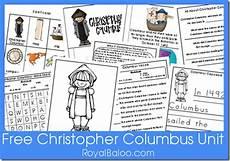 free christopher columbus unit printables free homeschool deals