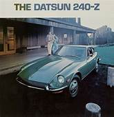 1971 Datsun 240Z Vintage Ad Front View  Astronomy
