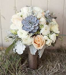 peach flowers and slate blue succulents love flower