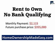 rent to own no credit check no down payment rent to own no bank qualifying rent to own homes rent own home
