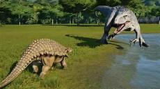 Dinosaurier Arten Ausmalbilder Nodosaurus Fully Modified Vs I Rex T Rex Carnotaurus