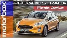 Nuova Ford Active Da Utilitaria A Crossover Alta