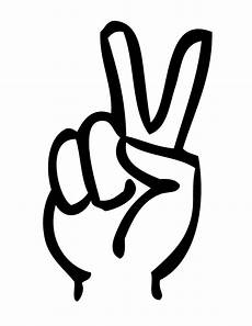peace zeichen finger free printable peace sign free clip free