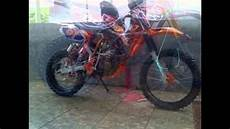 F1zr Modif Trail by Modifikasi Motor Trail Motorplus Modif Trail Bebek Jadul