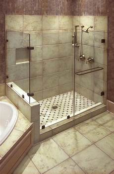 Dusche Ebenerdig Badgestaltung Gro 223 E Fliesen Dusche Und