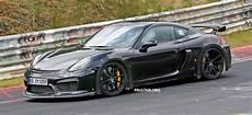 Porsche Gt4 Rs - spyshots porsche cayman gt4 rs in the works paul