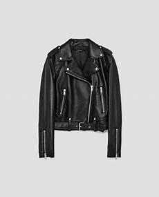 faux leather biker jacket jackets zara united