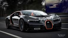 Bugatti Chiron Reveals Its Top Speed