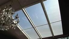 vitrage 224 store int 233 gr 233 s pour toiture de v 233 randa
