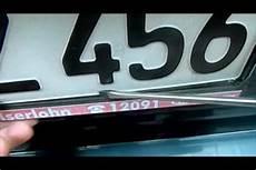 was kostet ein nummernschild nummernschild austauschen so geht s