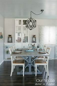 Dining Room Home Decor Ideas by How To Blend Fall Decor Into A Blue And Coastal Themed