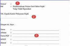 cara mengembalikan jatah nomor seri faktur pajak cara lapor pajak online