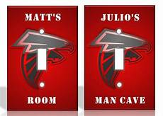 personalized atlanta falcons light switch covers nfl