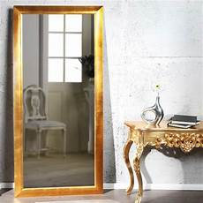wandspiegel gross edler garderobenspiegel quot eleganza quot in gold quot create your