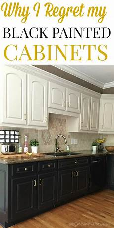 black kitchen cabinets the at home with the barkers