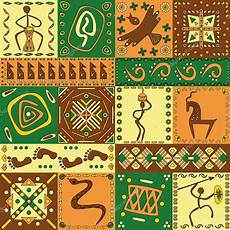Indianische Muster Malvorlagen Musik Afrikanisches Muster Vektorgrafik Lizenzfreie Grafiken