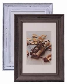 Bilderrahmen Holz Weiß - holz bilderrahmen 20x30 fotorahmen foto rahmen holzrahmen