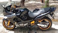 moto suzuki gsx 750f pintura gold