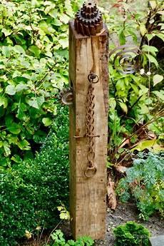Seminar Gartenstele Aus Holz Bauen Gartendeko Garten