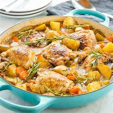 easy one pot roasted chicken dinner the busy baker