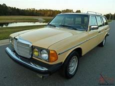 1981 mercedes 300tdt station wagon turbo diesel w123 one