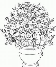 Ausmalbilder Blumen Schwer Blumen 33 Ausmalen Ausmalbilder Blumen