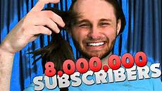 i finally cut my hair 8 000 000 subscribers youtube