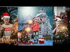 merry christmas photo online editing picsart merry christmas photo editing tutorial 2020 happy christmas day editing youtube