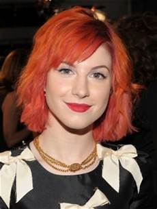 pictures hayley williams hairstyles hayley williams red bob haircut