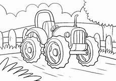 Einfache Ausmalbilder Traktor ᐅᐅ Kostenlose Ausmalbilder Fahrzeuge Traktoren Autos