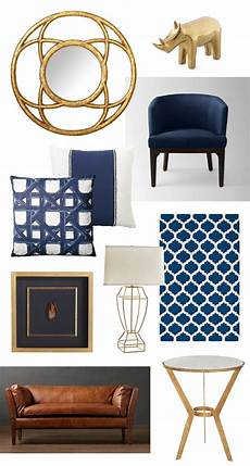 Navy Blue Home Decor Ideas by Navy Gold Living Room Ideas Gold Home Decor Home