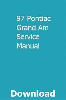 car repair manuals online pdf 1991 pontiac grand am parking system 97 pontiac grand am service manual pontiac grand am can am atv can am