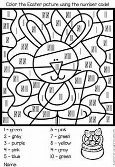 color by number easter coloring sheets 18104 easter color by number by williams teachers pay teachers