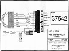 gm tilt steering column wiring diagram wiring