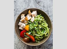 pesto chicken breast with summer squash_image