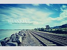 Thankful new year 2015 Christian wallpaper